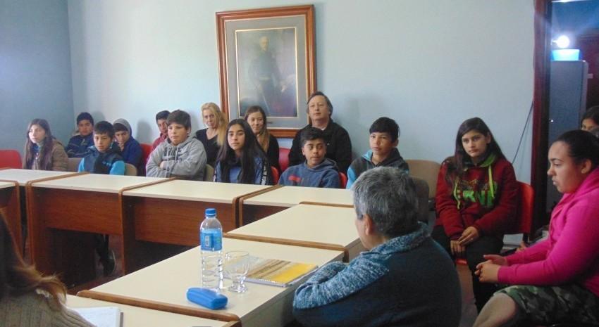 Visita de los alumnos de 1º ño de la E.E.S Nº 3