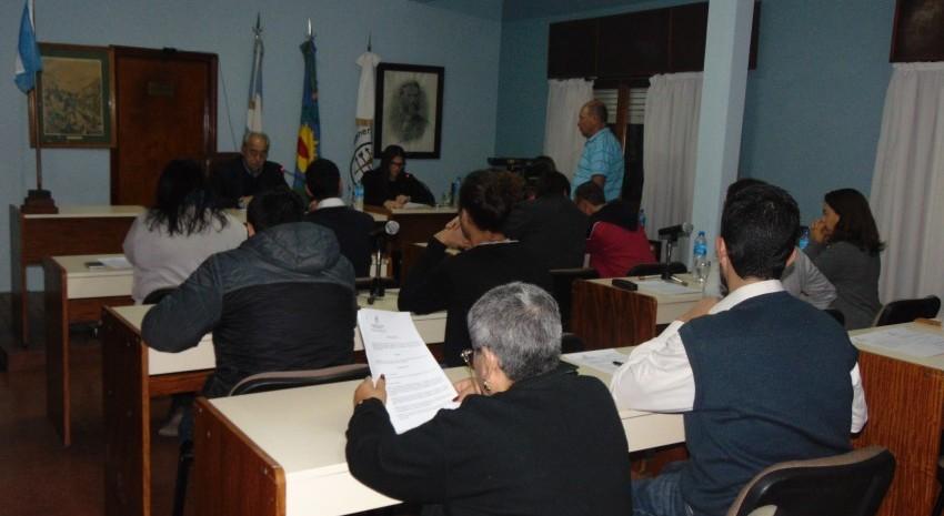 Sesión Ordinaria en el Concejo Deliberante 28 de marzo